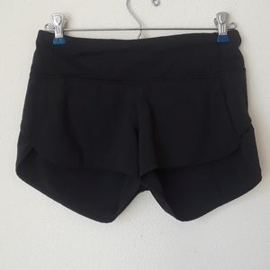 Lululemon athletica dot size 2 running shorts